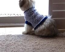 Hand Knit Dog Sweater Pattern