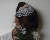 40's Inspired Lace Hat