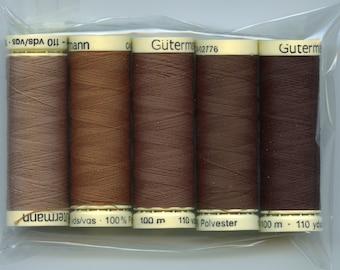 Gutermann sewing threads