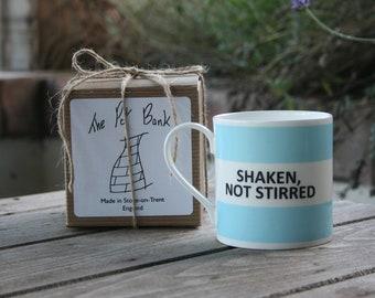 Shaken Not Stirred Hoop Mug