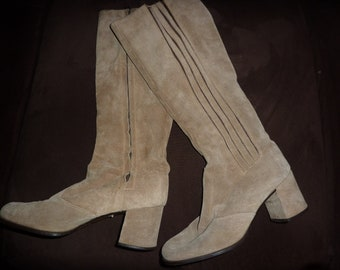 Vintage Suede Imported Boots from Italy