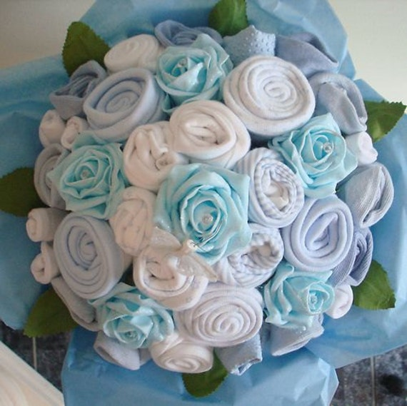 Hand-Made Luxury Baby Boy Bouquet Made with by ...