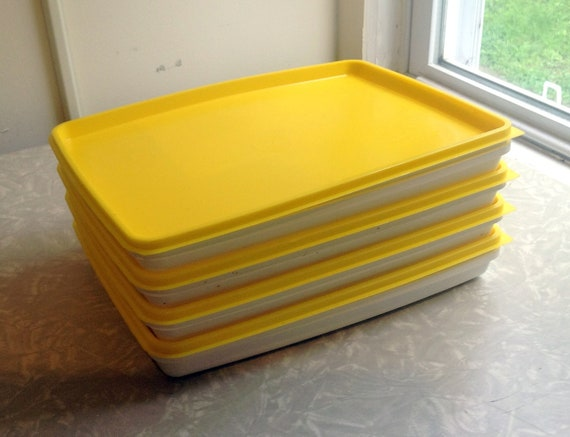 Vintage TV Dinner Tray with Lid