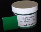 Signal Green Powder Coating