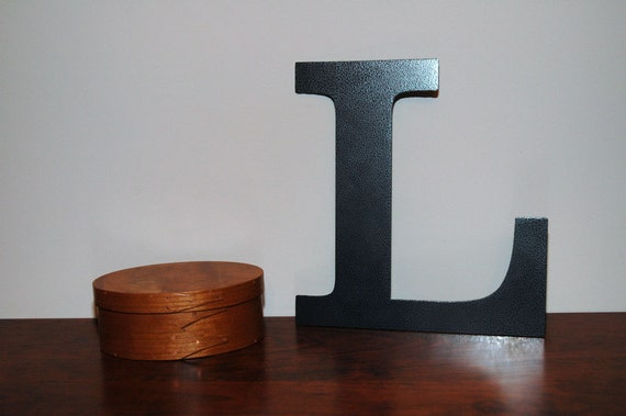 12 Inch Steel Letters And Numbers: By SteelGooseMetalArt