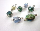 Assorted Wire Wrapped Beads (7)