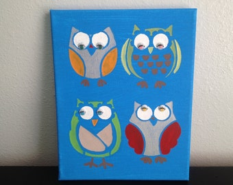 Owls with Google Eyes