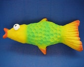 Fish Purse Rainbow made from natural Latex