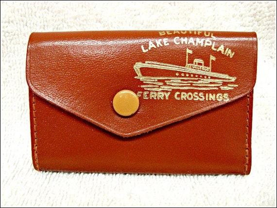 Six Key Wallet, Vintage 70's Brown, Key Case, Leather Key Holder