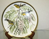 "Franklin Mint ""Songbirds of the World"" Magnolia Warbler Plate"