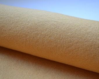 Rustic Honey 100% Wool Felt