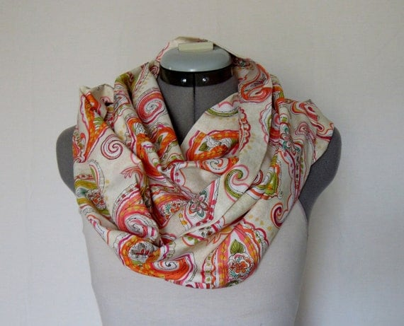 Infinity Scarf - Paisley