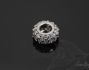 H027-10pcs-Luster Black plated Plated