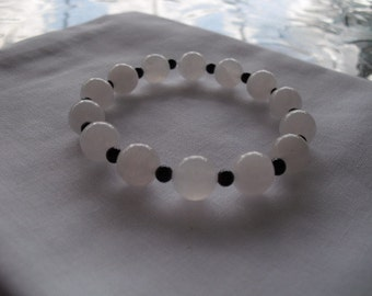 White jade bracelet