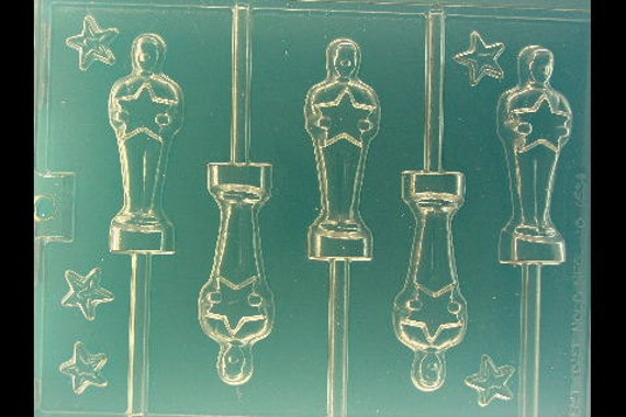 Chocolate Oscar Icon Mold Movie Award Chocolate Mold By