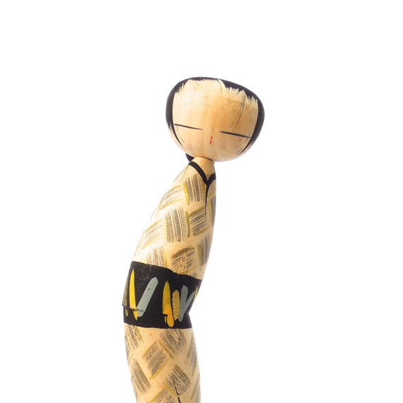Kokeshi Doll, Japanese, Vintage