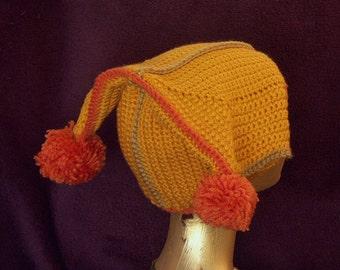 HATONSALE   Yellow Clown Hat