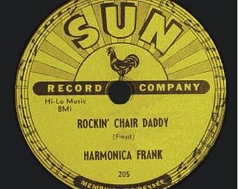 Sun 78 Record Label - Harmonica Frank - T-Shirt