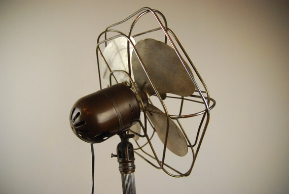 Vintage Pedestal Fan : Vintage pedestal fan from s by bob irwin products