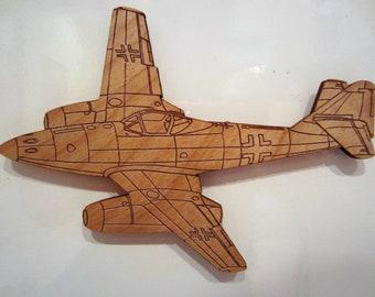 ME-262 Wooden Fridge Magnet