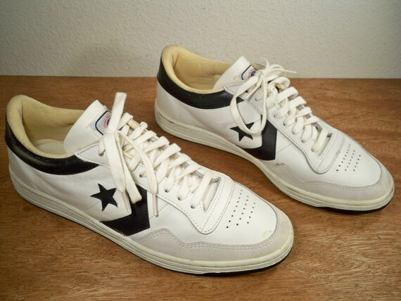 vintage converse nba players low s white leather by