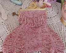 Rose Mary Beaded Bag Purse Pattern