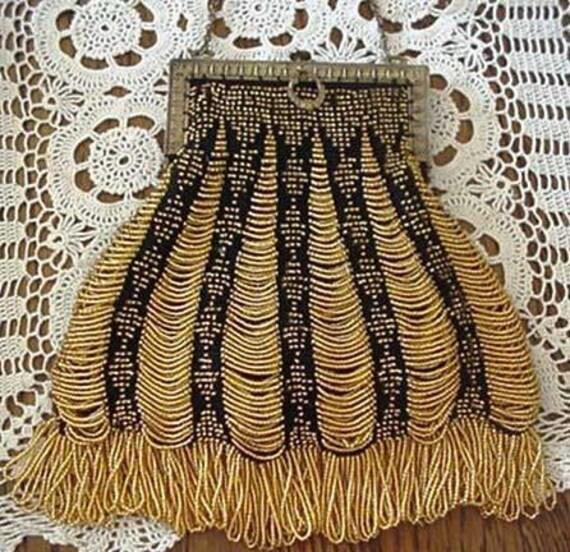 Queen Of Diamonds Beaded Bag Purse Pattern