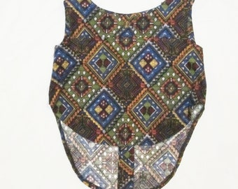 Sleeveless Top in Native Inspired Pattern