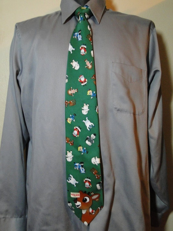 Christmas Ties That Light Up