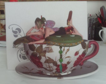 Tea party, Faerie, Fairy