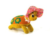 Dream Pet Turtle, 1960s Dakin Stuffed Toy