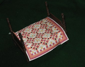 Hand-quilted Miniature Quilt