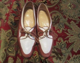 Vintage Peron Shoes Made In Italy Size 40