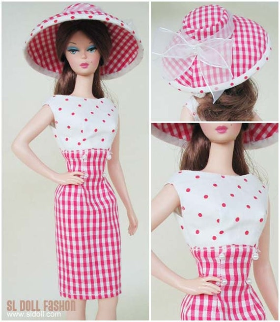 vintage Dress and Hat pattern PDF download for Silkstone ...