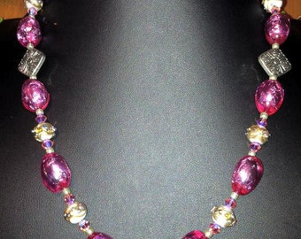 It's a Girl - Pretty in Pink Necklace