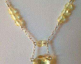 Lemon Drop Necklace