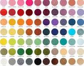 20 Sheets // Designer Wool Felt // 9x12 inches
