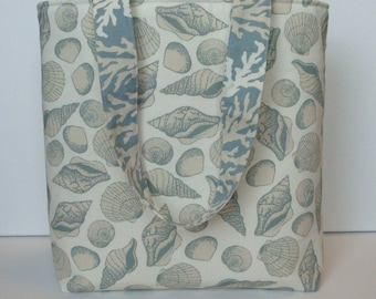Down by the Sea Shells Tote