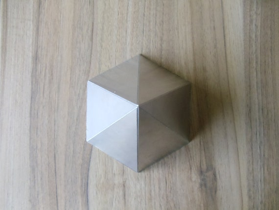Orgone Aluminium Hexagonal Pyramid  Mold / Mould - Handmade