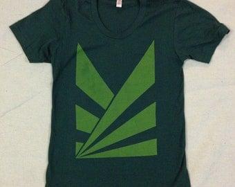Rays T-shirt - Screen Print on American Apparel