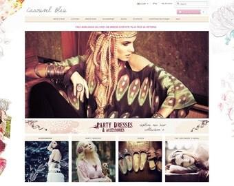 Ecommerce Website Design Custom Shop Webdesign Boutique E-commerce Mobile friendly - SILVER