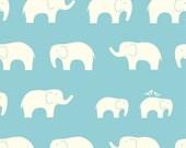 1 Yard - Ellie Fam in Pool - Jay-Cyn Designs for Birch Fabrics- Mod Basics 100% Organic (1 Yard)