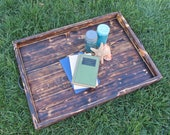 SHOP SALE - Ottoman Tray Pallet Furniture Made From Reclaimed Pallet Wood