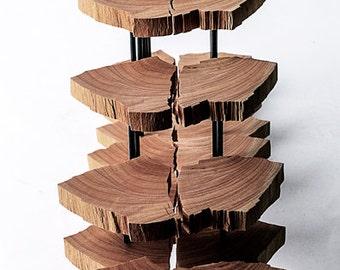 Contemporary Sculpture Reclaimed Wood Art