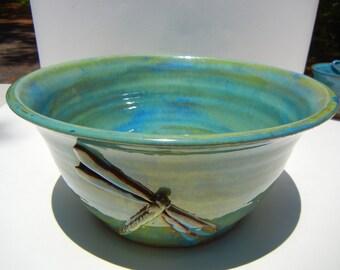 Dragonfly Bowl Small Stoneware
