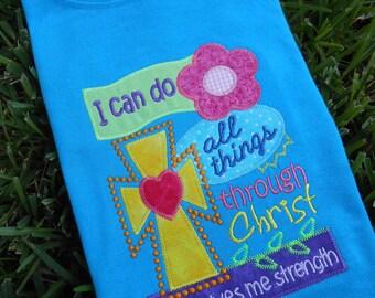 Colorful Scripture T-shirt