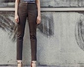 SALE 20% OFF! Womens pants - Womens trousers - summe pants - spring fashion - gray brown pants - high waisted pants