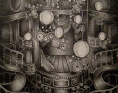 The Occupants Steampunk Semigloss Cardstock 5 X 7