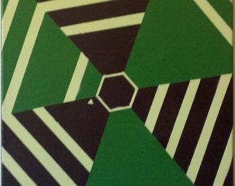 Super Hexagon Homage Spray