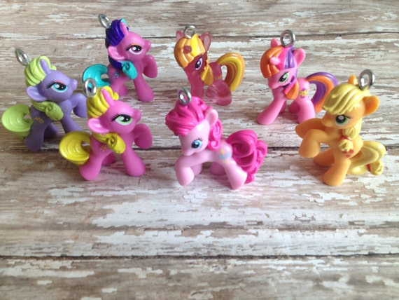My little pony necklacemy little pony pendantchunky necklace like this item mozeypictures Gallery